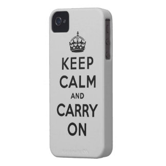 keep calm and carry on Original Blackberry Case
