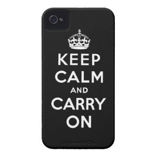 keep calm and carry on Original Blackberry Cases