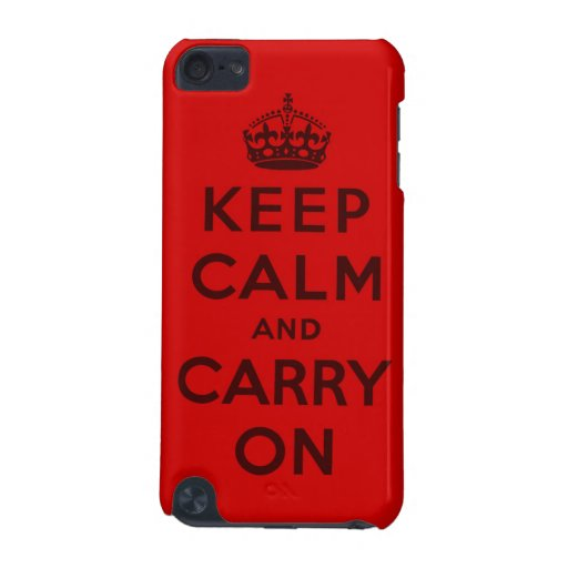 keep calm and carry on Original iPod Touch 5G Case