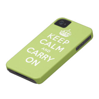 keep calm and carry on Original Blackberry Bold Case