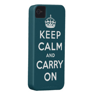 keep calm and carry on Original iPhone 4 Case