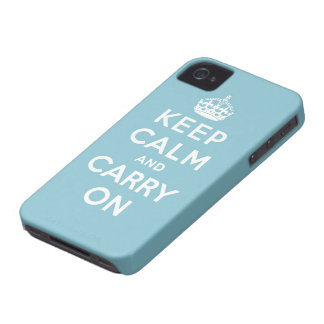 keep calm and carry on Original Blackberry Bold Cover