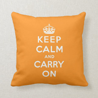 keep calm and carry on Original Cushion