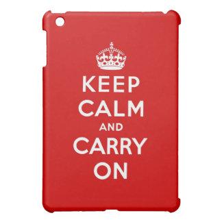 keep calm and carry on Original iPad Mini Case
