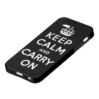 keep calm and carry on Original iPhone 5 Covers