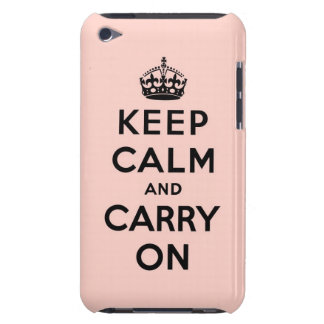 keep calm and carry on Original iPod Case-Mate Case