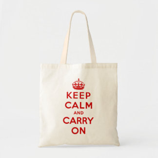 keep calm and carry on Original Tote Bag