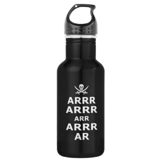 Keep Calm And Carry On Pirate Style 532 Ml Water Bottle