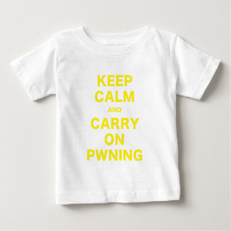 Keep Calm and Carry On Pwning Shirts