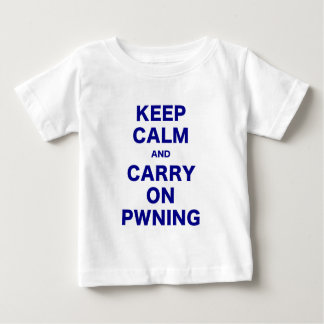 Keep Calm and Carry On Pwning Tee Shirt