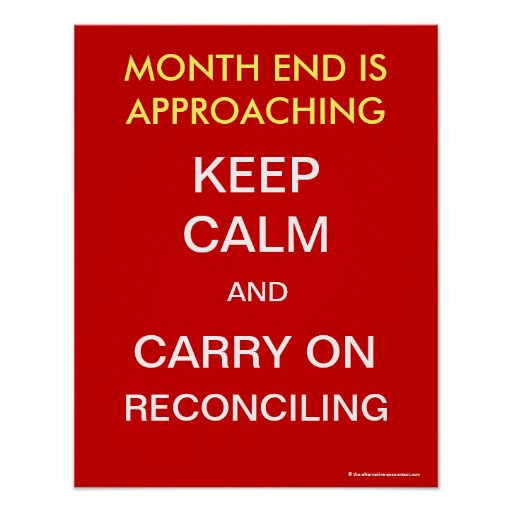 Keep Calm and Carry On Reconciling -  Poster