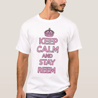 Keep calm and carry on - REEM t-shirt