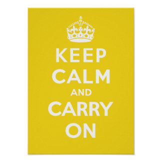 Keep Calm and Carry On_SUNSHINE Print