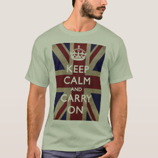 Keep Calm and Carry On T-Shirt - LI