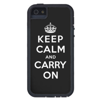 Keep Calm and Carry On Tough Xtreme iPhone 5 Case