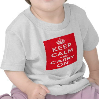 Keep Calm and Carry ON Tshirts