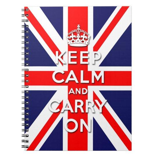 keep calm and carry on Union Jack flag