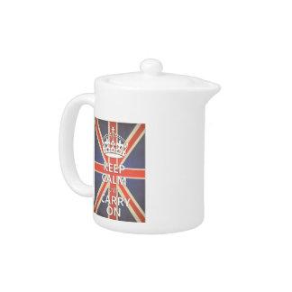 Keep Calm and Carry On United Kingdom Union Jack