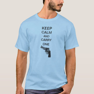 Keep Calm and Carry One American Apparel T-Shirt