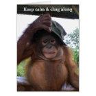 Keep Calm and Carry (or Chug) On Card