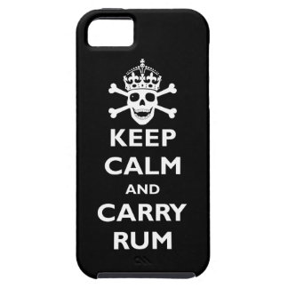 Keep Calm and Carry Rum iPhone 5 Case