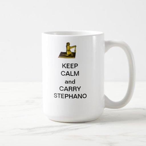Keep Calm and Carry Stephano Mug