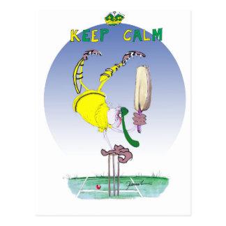 keep calm and celebrate, tony fernandes postcard