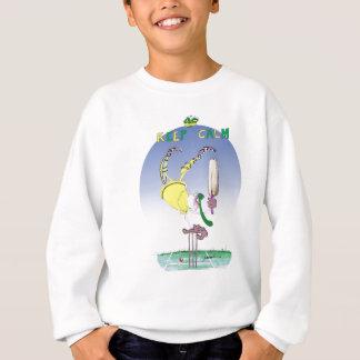 keep calm and celebrate, tony fernandes sweatshirt