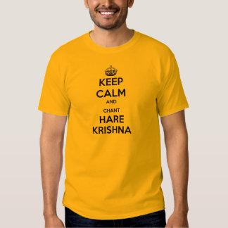 Keep Calm and Chant Hare Krishna Shirts