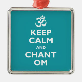 Keep Calm and Chant Om Christmas Ornament