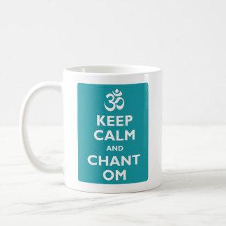 Keep Calm and Chant Om Coffee Mug
