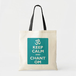 Keep Calm and Chant Om Bags