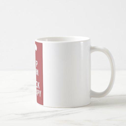 KEEP CALM AND CHECK CANOPY COFFEE MUGS