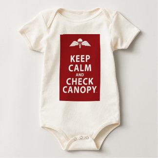 KEEP CALM AND CHECK CANOPY ROMPER