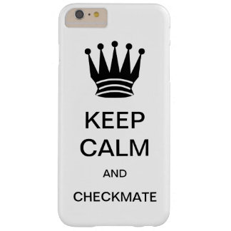 KEEP CALM AND CHECKMATE CaseMate iPhone  6/6s Case