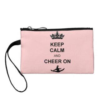Keep Calm and Cheer Coin Purse