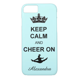 Keep Calm and Cheer on iPhone 7 case
