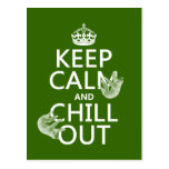 Keep Calm and Chill Out (sloth) (any colour)