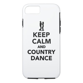 Keep calm and country dance iPhone 7 case
