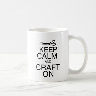 Keep Calm and Craft On Mugs