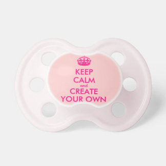 Keep calm and create your own - Pink Dummy