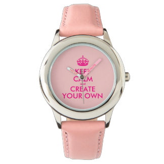 Keep calm and create your own - Pink Watch