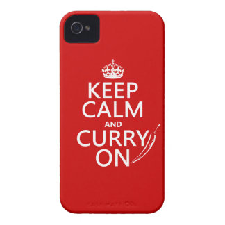 Keep Calm and Curry On Case-Mate iPhone 4 Case
