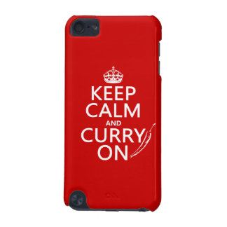 Keep Calm and Curry On iPod Touch (5th Generation) Case