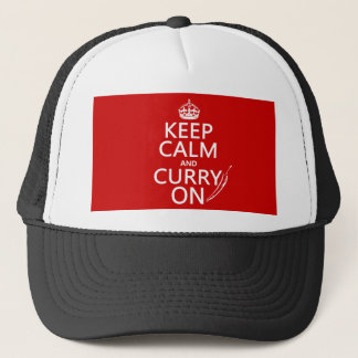 Keep Calm and Curry On Trucker Hat