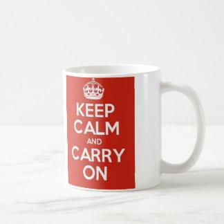 Keep Calm and curry one! Coffee Mug