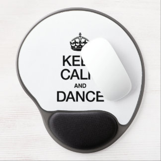 KEEP CALM AND DANCE GEL MOUSE MAT