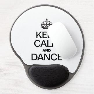KEEP CALM AND DANCE GEL MOUSEPAD