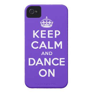 Keep Calm and Dance On Case-Mate iPhone 4 Cases