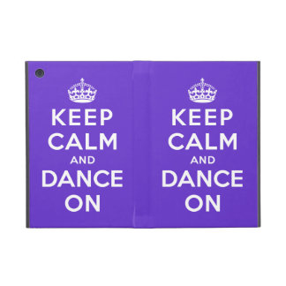 Keep Calm and Dance On iPad Mini Cover